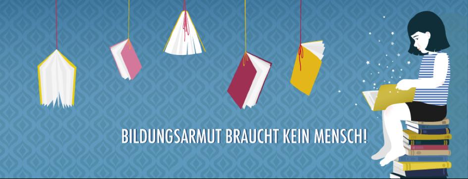 Bildungsarmut braucht kein Mensch: Die Aktion Hanging Books