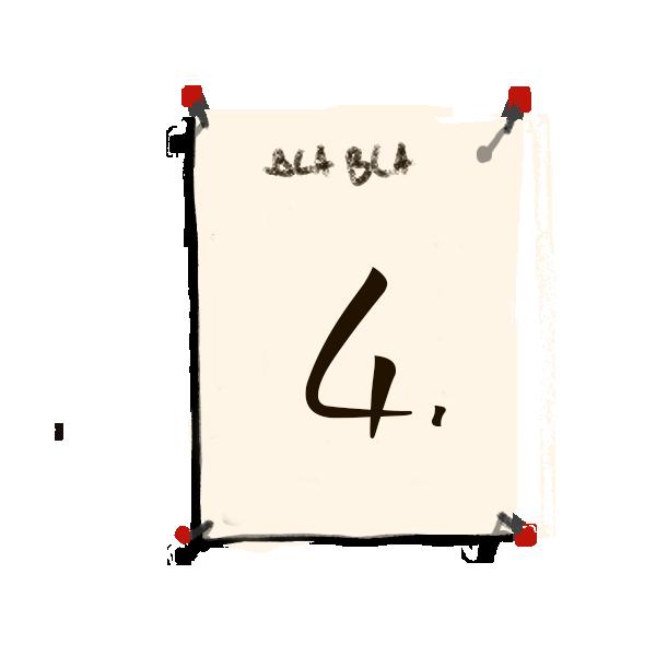 Bilderrahmen Nummerierung 4