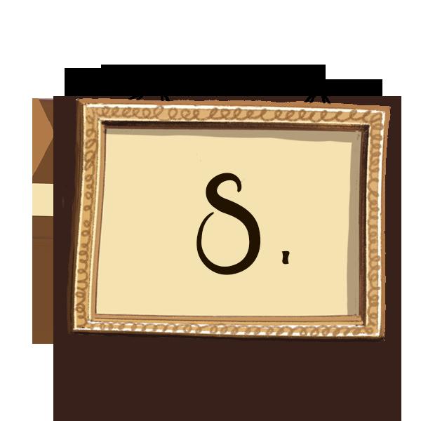 Bilderrahmen Nummerierung 8