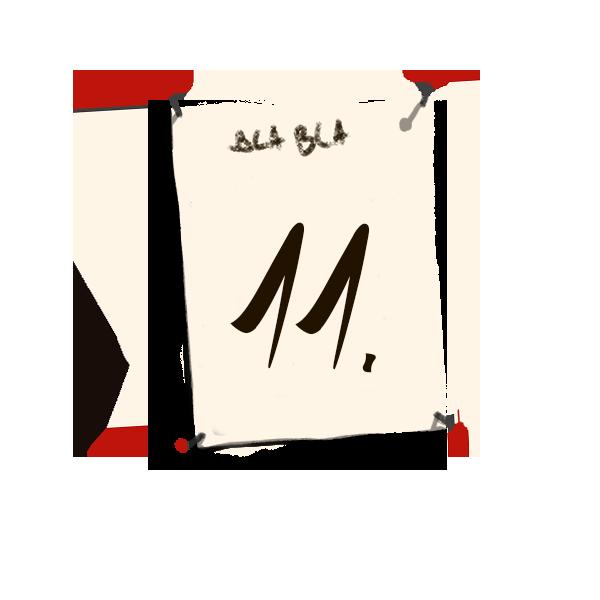 Bilderrahmen Nummerierung 11