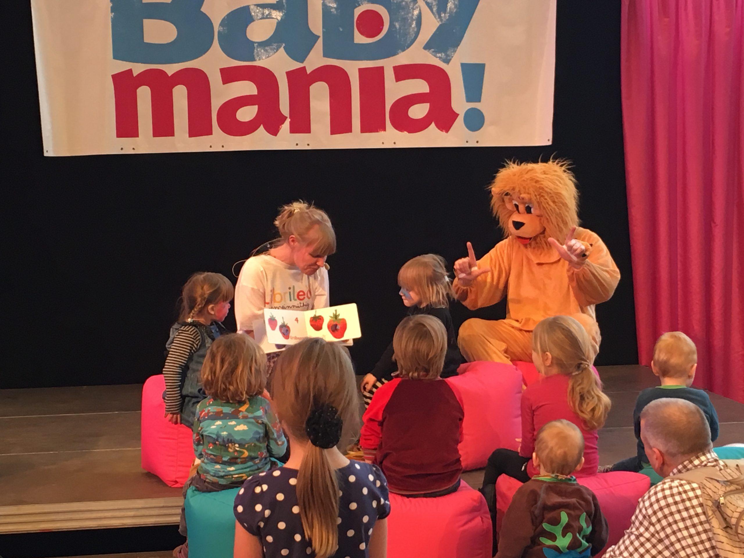 Das Librileo Team auf der Babymania Messe