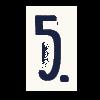 Bildnummerierung fünf