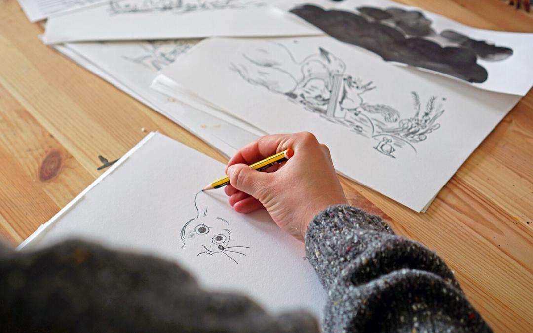 Librileo_Kinderbuch Dings Zeichnungen
