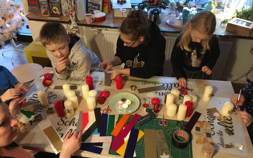 Librileo Basteltipp: Wir gestalten Kerzen