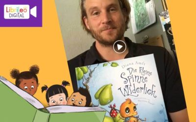 Digitale Lesestunde #17 Die kleine Spinne Widerlich
