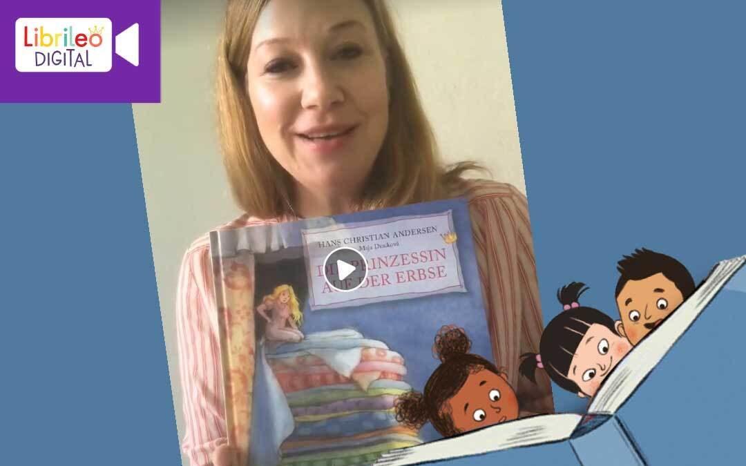 Digitale Lesestunde #18 Die Prinzessin auf der Erbse