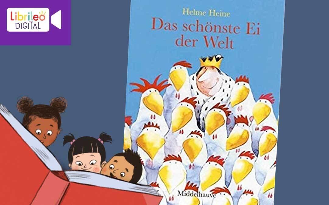 Digitale Lesestunde: Oster-Spezial! Der Hase mit der roten Nase & Das schönste Ei der Welt