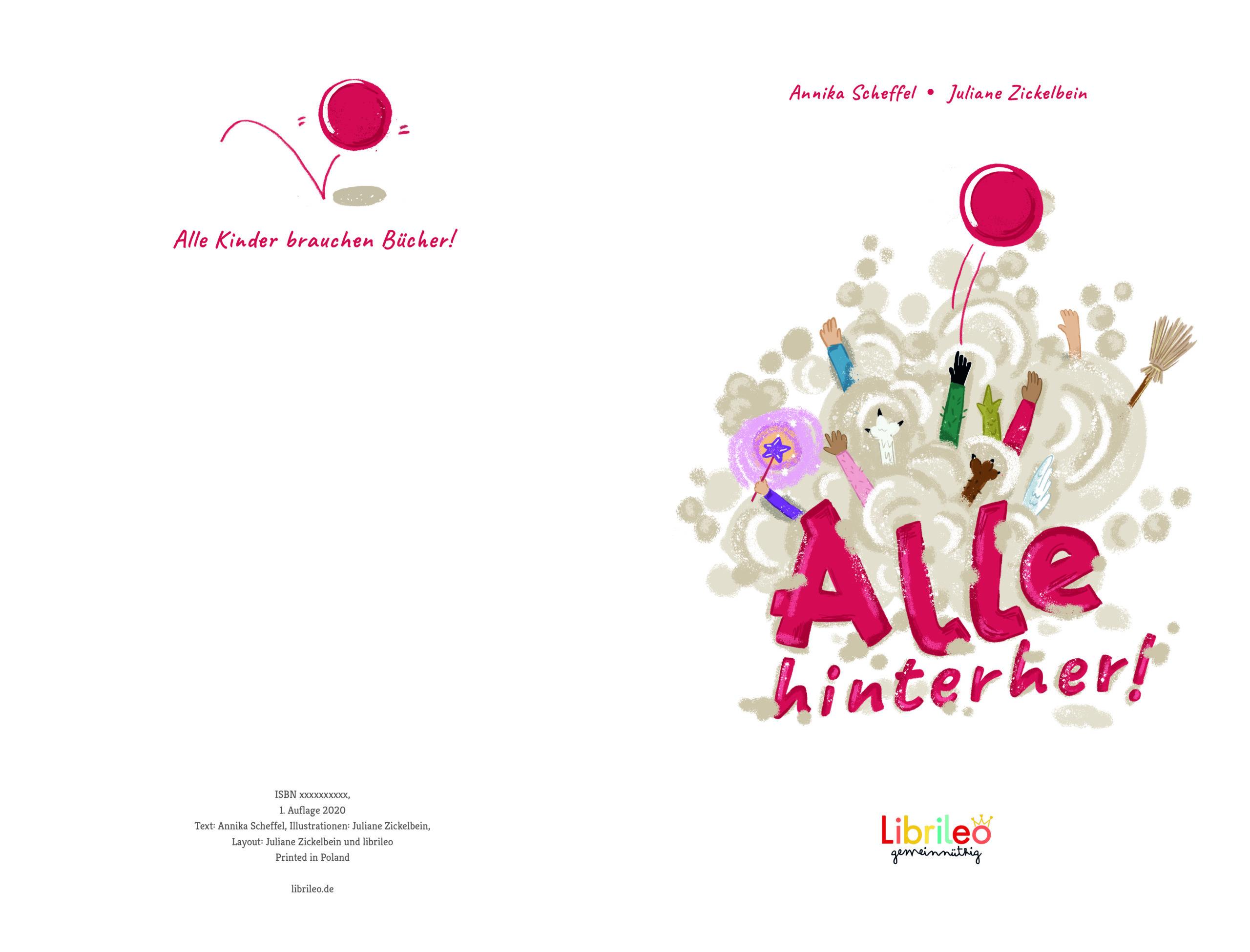 Kinderbuch alle hinterher Librileo