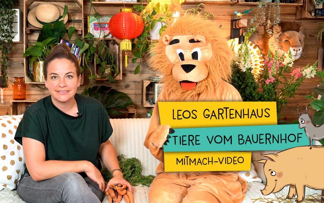 Leos Gartenhaus |Tiere vom Bauernhof